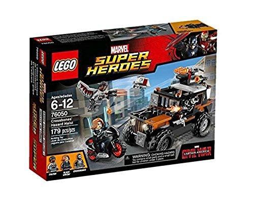 Lego Marvel Super Heroes - 76050 - Jeu De Construction - Crossbones' Hazard Heist