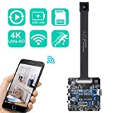 4K Ultra HD DIY Wireless Camera 120 Degree Mini DVR Motion Detection Nanny Cam Security System APP...