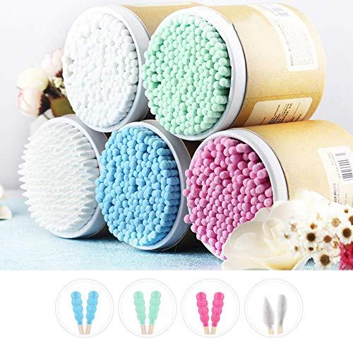 DBSCD Coton Naturel en Bambou Tampon Multifonctionnel 100% Pur Coton sans Danger pour la santé, sans Produits Chimiques hygiéniques - pour Peau Sensible, Outils de Maquillage, Propre, 5 PCS