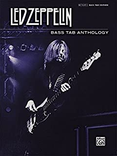 Led Zeppelin Bass TAB Anthology: Authentic Bass TAB