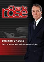 Charlie Rose - Part 2 of an hour with Jay-Z with audience Q & A December 27, 2010