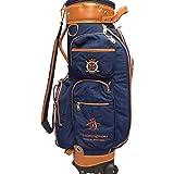 Sac de Golf Sac De Golf Sac De Golf avec des Sacs De Golf Sacs De Golf-Sac De Voyage Balle-Dames-Super Léger 4 Kg-Fine Tissu Vert/Bleu Foncé/Rouge (Couleur : Bleu foncé)