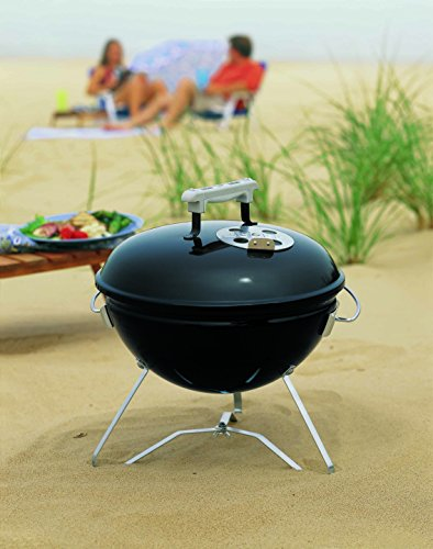 Weber Smokey Joe Premium Charcoal Grill Barbecue, Noir