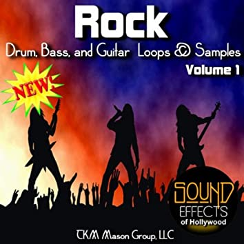 Rock Drum, Bass, And Guitar Loops And Samples - Volume 1