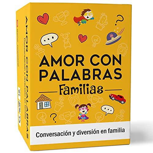 🧡 AMOR CON PALABRAS - Familias 👨👩👧👦 Juegos de Mesa Familiares para niños Que fortalecen los vínculos Familiares creando Conversaciones de Calidad Mediante Divertidos Juegos de Cartas
