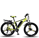 Electric Bikes for Adult, Mens Mountain Bike, Magnesium Alloy Ebikes Bicycles All Terrain,26' 36V 350W...