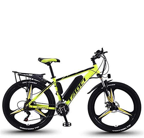 Vélos Électriques Pour Adultes, Hommes VTT, Vélos En Alliage De Magnésium Ebikes Tout Terrain,...