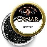 Marky's Premium Bowfin American Black Caviar - 1 oz - Malossol Bowfin Black Roe - GUARANTEED OVERNIGHT