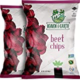 Heaven & Earth Beet Chips, 5oz (2 Pack)