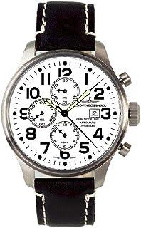 Zeno - Watch Reloj Mujer - Oversized Pilot Basilea Chrono - 8557TVD-i2
