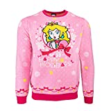 Official Super Mario Princess Peach Christmas Jumper