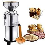 HOMIER Peanut Sesame Grinding Machine Upgraded Peanut Butter Machine Multi-Functional Sesame Butter Grinder Machine Electric Sesame Sauce Grain Mills Machine 110V Commercial & Home Use