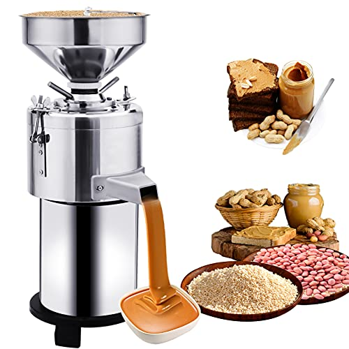 HOMIER Peanut Sesame Grinding Machine Upgraded Peanut Butter Machine...