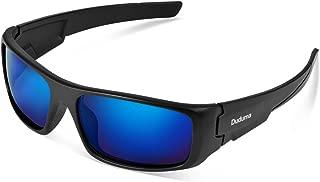 Duduma TR601 Polarized Sports Sunglasses for Men Women Baseball Running Cycling Fishing Driving Golf Softball Hiking Superlight Frame