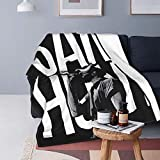 Sam Hunt Blanket Plush Flannel Fleece Blanket Air-Conditioning Quilt for Sofa Chair Bed