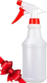 Spray Bottles for Cleaning Solutions 16oz/1Pack - Empty Spray Bottles With Durable Trigger - Adjustable Nozzle Sprayer fro...