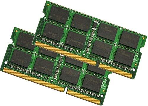 16GB (2x 8GB) DDR3 1600MHz (PC3 12800S) SO Dimm Notebook Laptop Arbeitsspeicher RAM Memory Hynix Micron Elpida