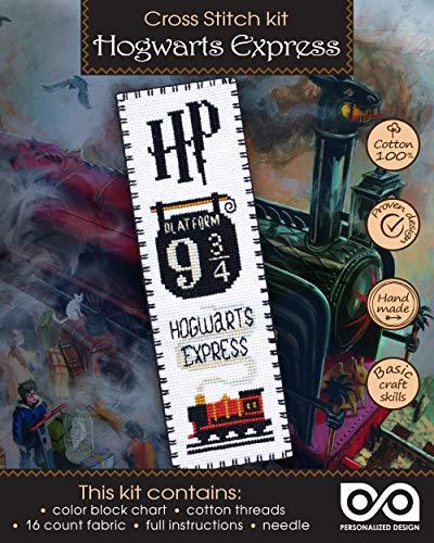 Cross Stitch Kit Hogwarts Express: Platform 9