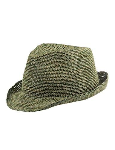 CAPO Unisex Fedoras Rio Melange Hat, Grün (Forest 64), Large (Manufacturer Size:L/XL)