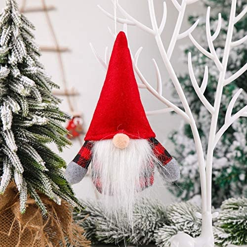 Juryfew Handmade Max 62% OFF Plush Gnome Doll Plu Santa Ornaments Virginia Beach Mall Christmas