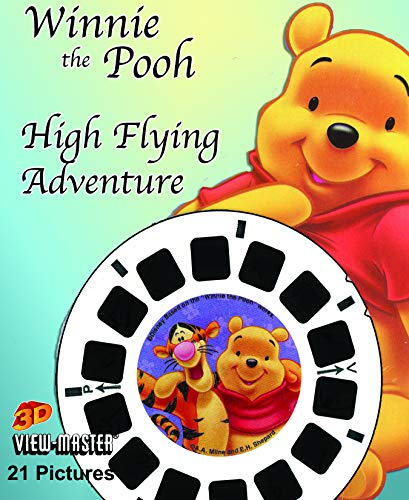 Pooh's High Flying Adventure - Disney - Classic ViewMaster 3 Reel Set - 21 3D Images