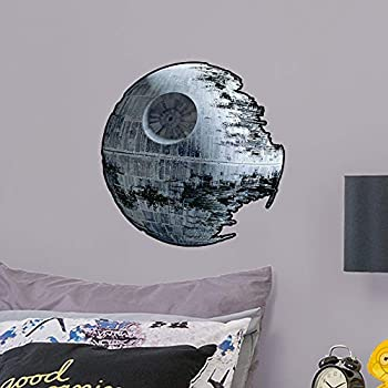 Death Star - Large Officially Licensed Star Wars Removable Wall Decal