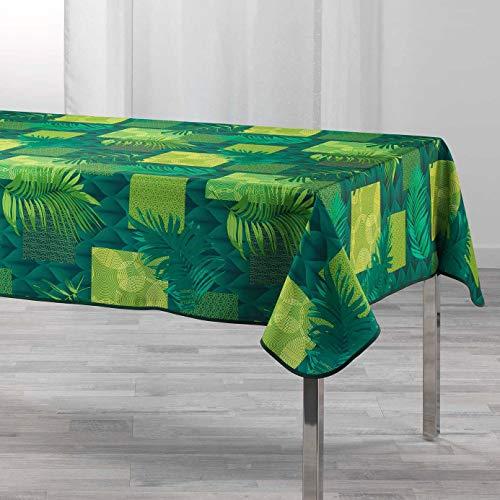 Arte Provenzale Tovaglia antimacchia Flore Rettangolare e Rotonda (240_x_150 cm.)