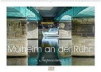 Muelheim an der Ruhr - Impressionen (Wandkalender 2022 DIN A2 quer): Muelheim - Die sympathische Stadt an der Ruhr (Monatskalender, 14 Seiten )