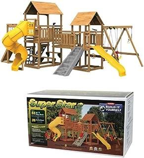 Backyard Play Station Building Kit - BIY Building Kit Superstar XP Play Tower