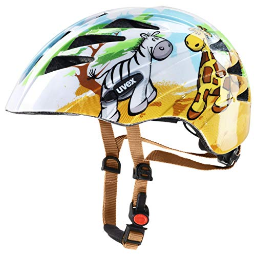 Uvex Kinder Helm Kid 1, Safari, 47-52 cm, 4142590115