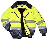 Portwest Warnschutzjacke 4-in-1 Funktion Arbeitsjacke Winterjacke