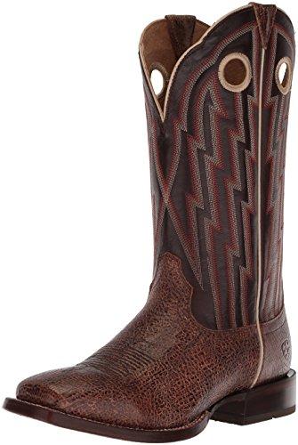 Ariat Men's Fast Action Western Boot, Desert Drought/Cowboy Cocoa, 12 D US