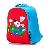 Minetom Backpack La Mochila De Jardín De Infantes Embroma La Bolsa De La Escuela Escuela Animal Lindo Niños Bebés Niñas Pequeños Impermeable 2-6 Edad Perro Small