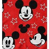 "Mickey-Mouse Fleece Throw Blanket - Disney Mickey Cartoon Character Fleece Throw Blanket for Girls & Boys, Soft & Cozy Plush Lightweight Fabric, Bedroom Decor Kids Throw Blanket - Size 45""x 60"""