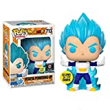QToys Funko Pop! Dragon Ball Super #713 Vegeta Powering Up (Glows in The Dark) Chibi...