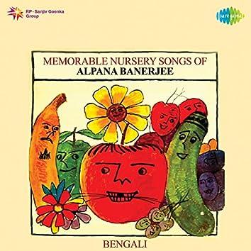 Memorable Nursery Songs of Alpana Banerjee