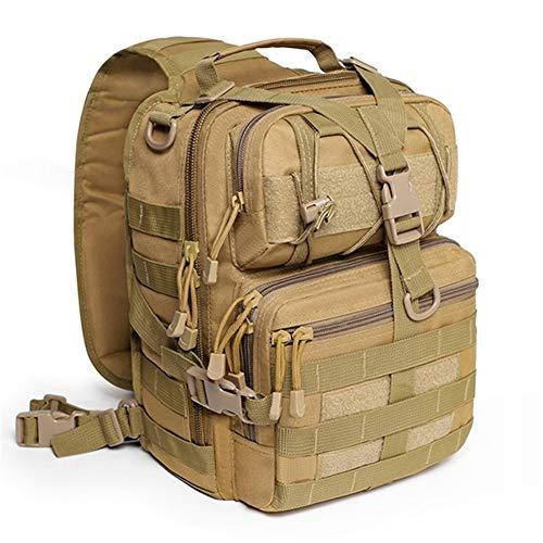 20 l, waterdicht, schouder, militaire rugzak voor Honda Armee, camping, jacht, rugzakken, mol, outdoor-verpakking, borstzakken, grey (Beige) - BTZHY