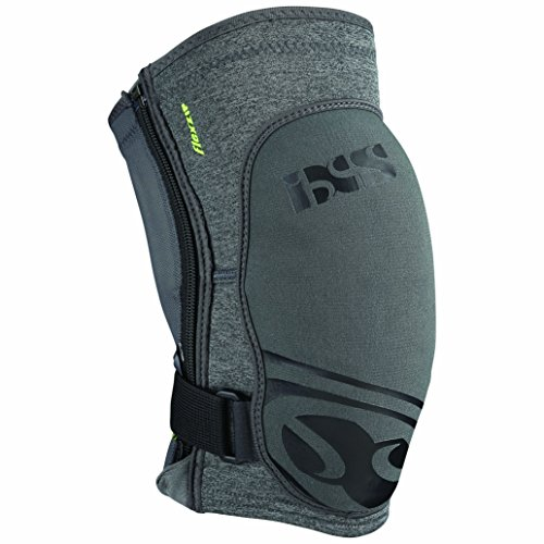 IXS Sports Division Flow Zip Knee pad Knieprotektor, Grey, L