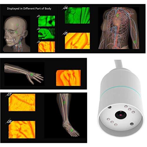 Canvas Localizador De Venas,Detector de Venas Vascular intravenoso IV infrarrojo de imágenes de bebé Adulto Buscador de Venas Transiluminador