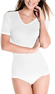 Playtex Princesa 4796 - Camiseta termica Mujer 100% Algodon