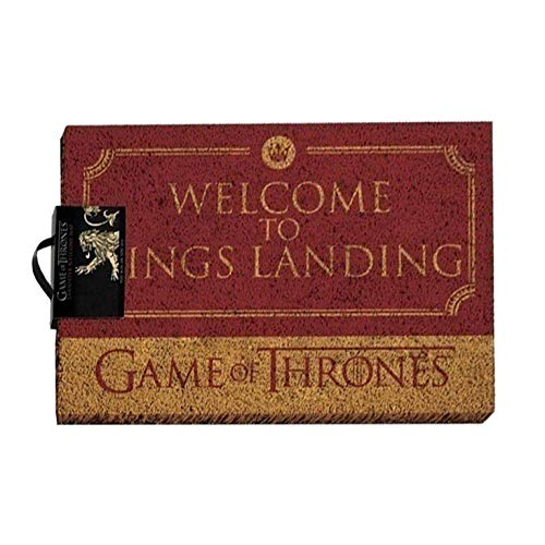 Grupo Erik Editores Felpudo Game of Thrones Welcome TO Kings Landing, Multicolor, 40 x 60 cm