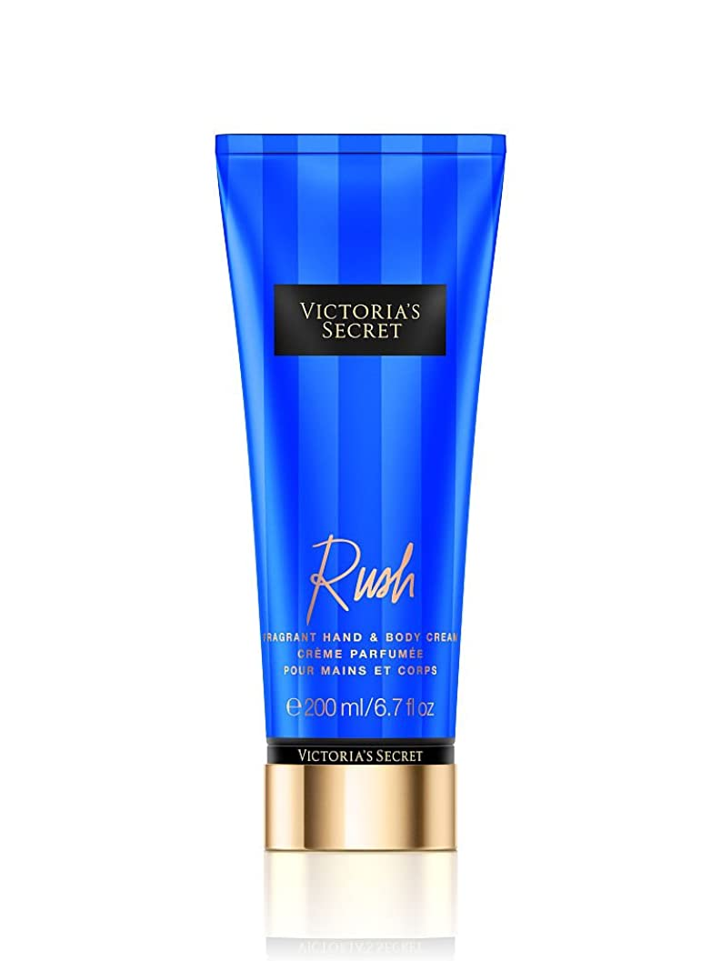 余計なパイル成長するVictoria's Secret ヴィクトリアシークレット Rush Fragrant Hand & Body Cream フレグランス ハンド & ボディークリーム ラッシュ 200ml [並行輸入品]