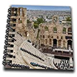 3dRose Odeon of Herodes Atticus, Acropolis of Athens city, Greece. - Drawing Books (db_343814_3)
