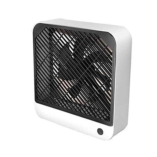 Yuxahiugfs Small Desk Fan, Summer Mini USB portátil de Carga silencioso Ventilador eléctrico de Escritorio del Regalo de la decoración