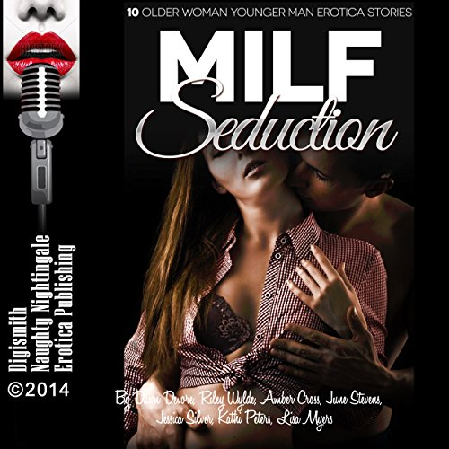 MILF Seduction     10 Older Woman Younger Man Erotica Stories              By:                                                                                                                                 Dawn Devore,                                                                                        Riley Wylde,                                                                                        Amber Cross,                   and others                          Narrated by:                                                                                                                                 Audrey Lusk,                                                                                        Layla Dawn                      Length: 4 hrs and 5 mins     2 ratings     Overall 4.0