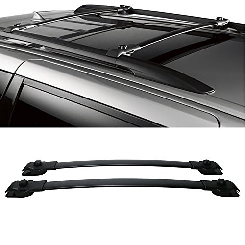 Mingyue Pair Black Aluminum Top Roof Rack Cross Bars Luggage Cargo Carrier Rails For 2011-2019 Toyota Sienna