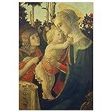 JUNIWORDS Poster, Sandro Botticelli, Maria mit dem