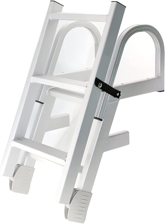 San Francisco Mall ZJMK Aluminum Pontoon Boat Ladders Folding Step Dealing full price reduction Fishing 5