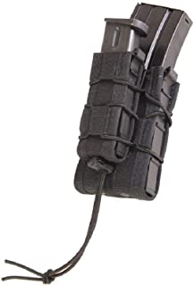 High Speed Gear Double Decker Taco Pouch   Double Stack Magazine Holster for Rifles and Pistols   MOLLE Compatible for Rapid Response