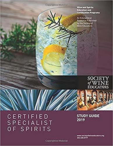 2019 Certified Specialist of Spirits Study Guide (English Edition)